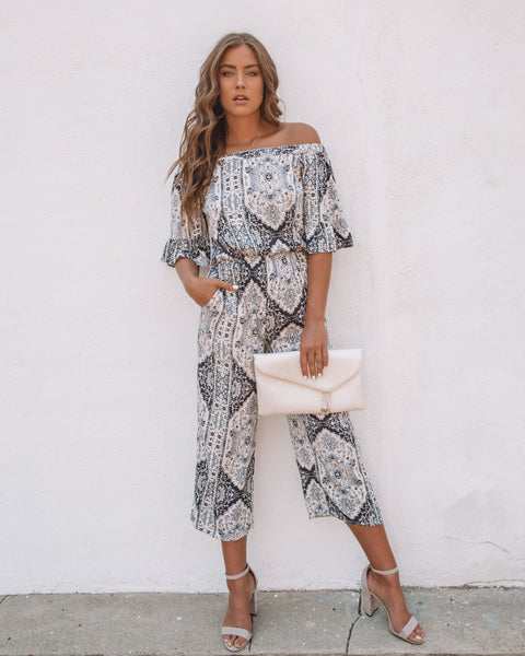 Flourish Pocketed Jumpsuit