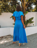 Lost In The Moment Maxi Dress - Cobalt Blue