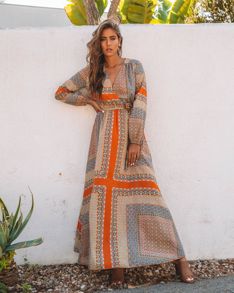 Joan Of Arc Maxi Dress