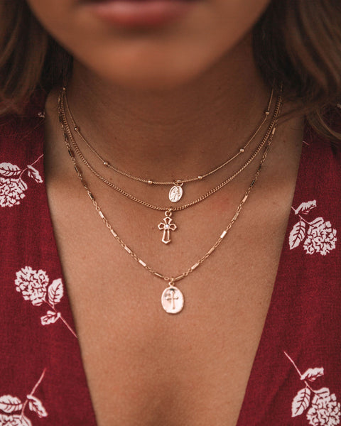 Let's Go Layered Necklace Set