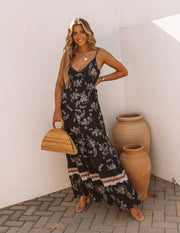 Acqualina Floral Tiered Maxi Dress view 1