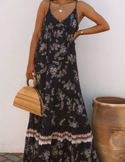 Acqualina Floral Tiered Maxi Dress view 6