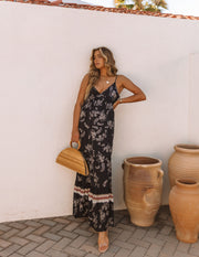 Acqualina Floral Tiered Maxi Dress view 8