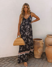 Acqualina Floral Tiered Maxi Dress view 10