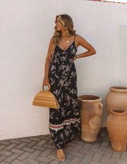 Acqualina Floral Tiered Maxi Dress view 7
