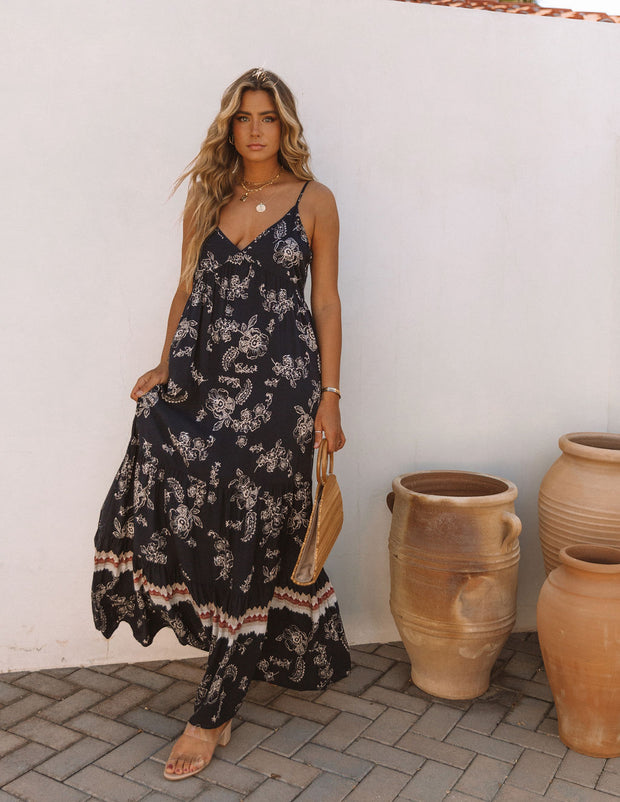 Acqualina Floral Tiered Maxi Dress view 11
