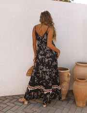 Acqualina Floral Tiered Maxi Dress view 2