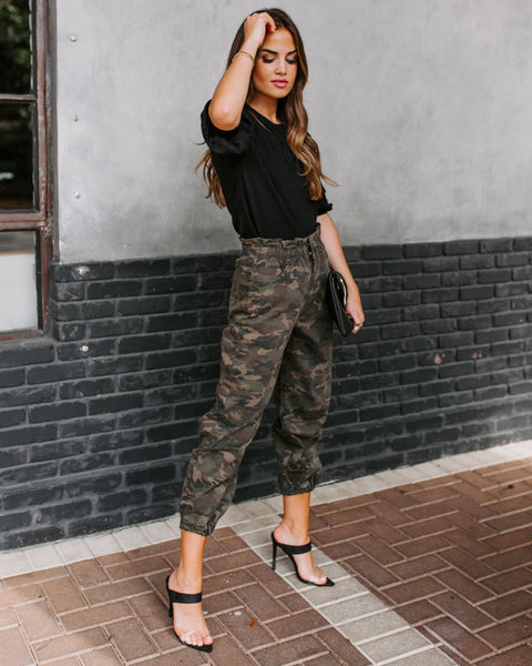 Move So Fast Pocketed Camo Pants - FINAL SALE