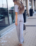 Tempest Striped Jumpsuit