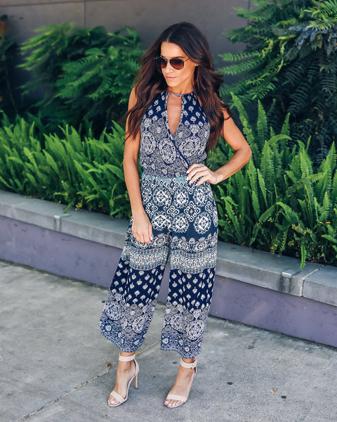 Far Out Paisley Jumpsuit - FINAL SALE
