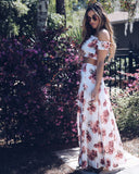 Budding Beauty Maxi Skirt