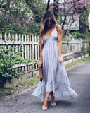 Presidio Striped Maxi Dress - FINAL SALE