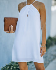 Carefree Living Halter Dress - White view 5