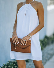 Carefree Living Halter Dress - White view 8