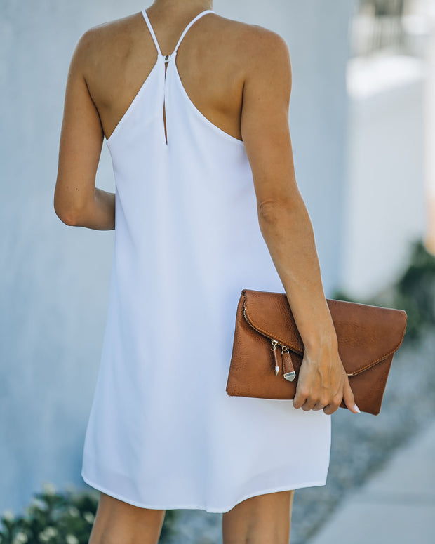 Carefree Living Halter Dress - White view 2