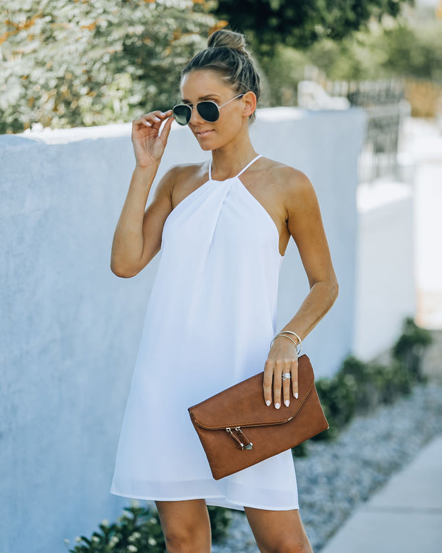 Carefree Living Halter Dress - White view 7