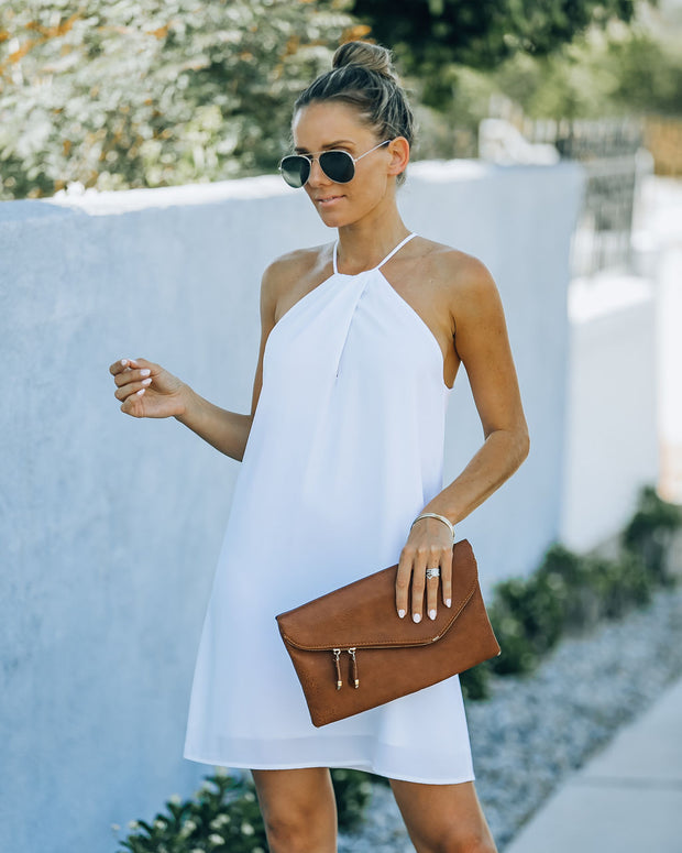 Carefree Living Halter Dress - White view 11