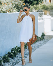 Carefree Living Halter Dress - White view 6