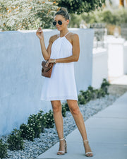 Carefree Living Halter Dress - White view 1