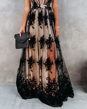 Antonia Maxi Dress - Black