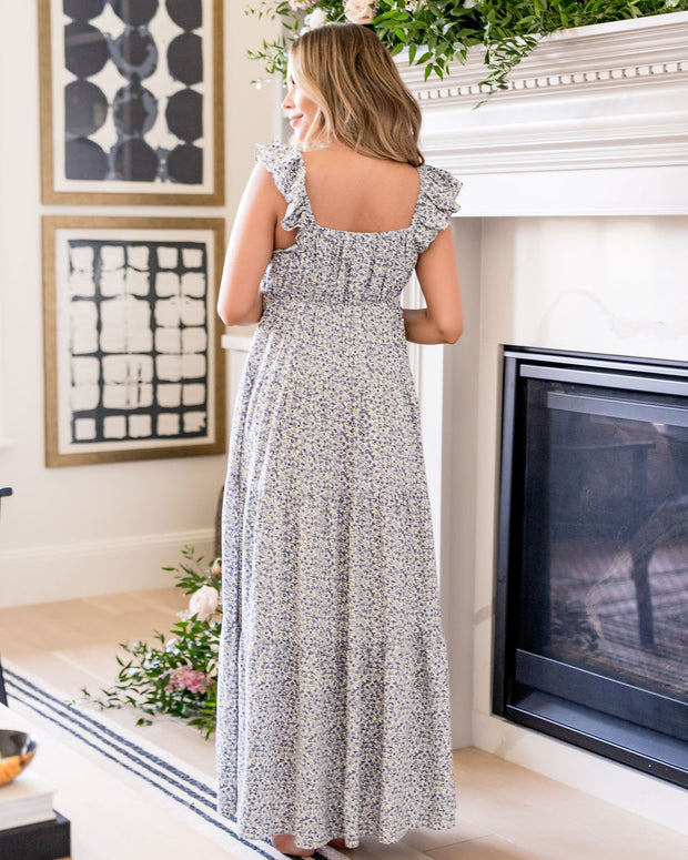 Botanic Floral Tiered Maxi Dress view 2