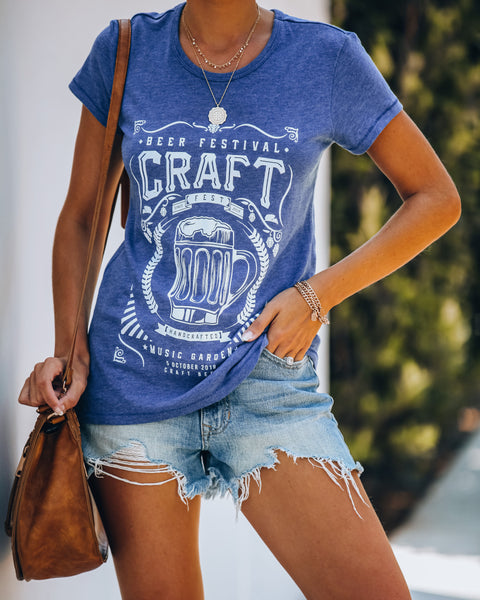 Craft Beer Festival Cotton Blend Tee