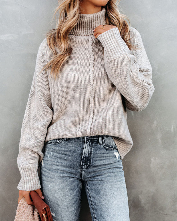 Better In The Mountains Turtleneck Sweater