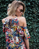 In Full Bloom Flutter Dress