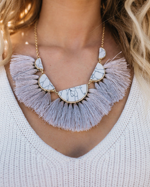 Tarzana Statement Necklace