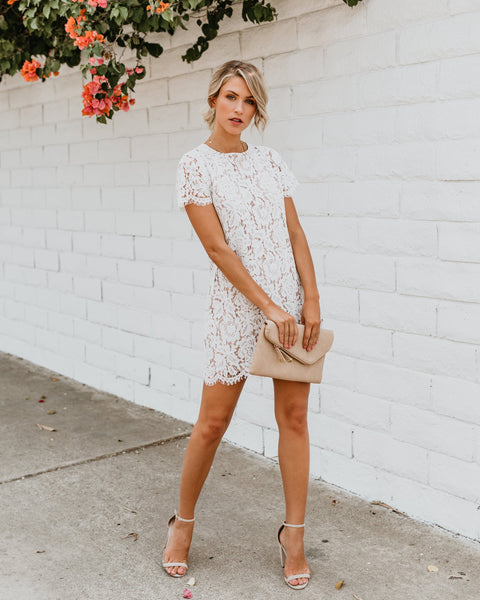 Calla Lace Shift Dress