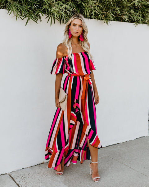 Claremont High Low Maxi Dress