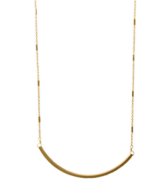 MARRIN COSTELLO -  Little Crescent Necklace