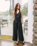 Donovan Pocketed Trousers - Black - FINAL SALE