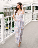 Spice Of Life Button Down Maxi Dress