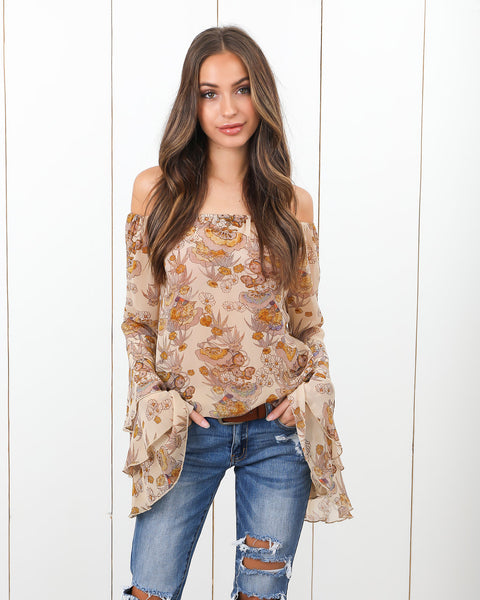 Imogen Tiered Sleeve Blouse - FINAL SALE