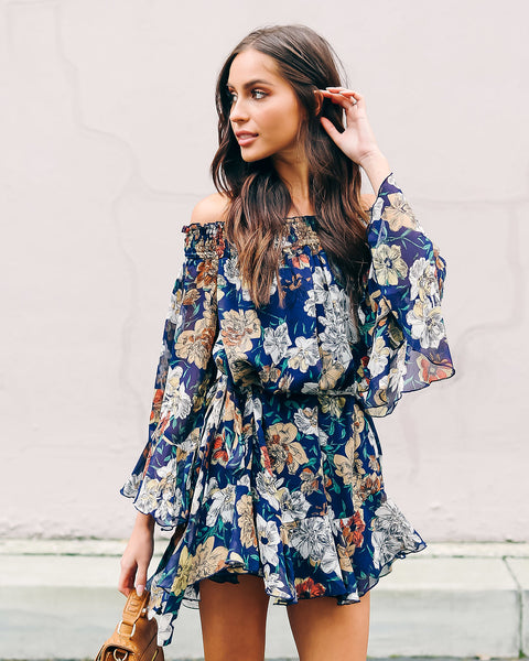 April Floral Babydoll Dress