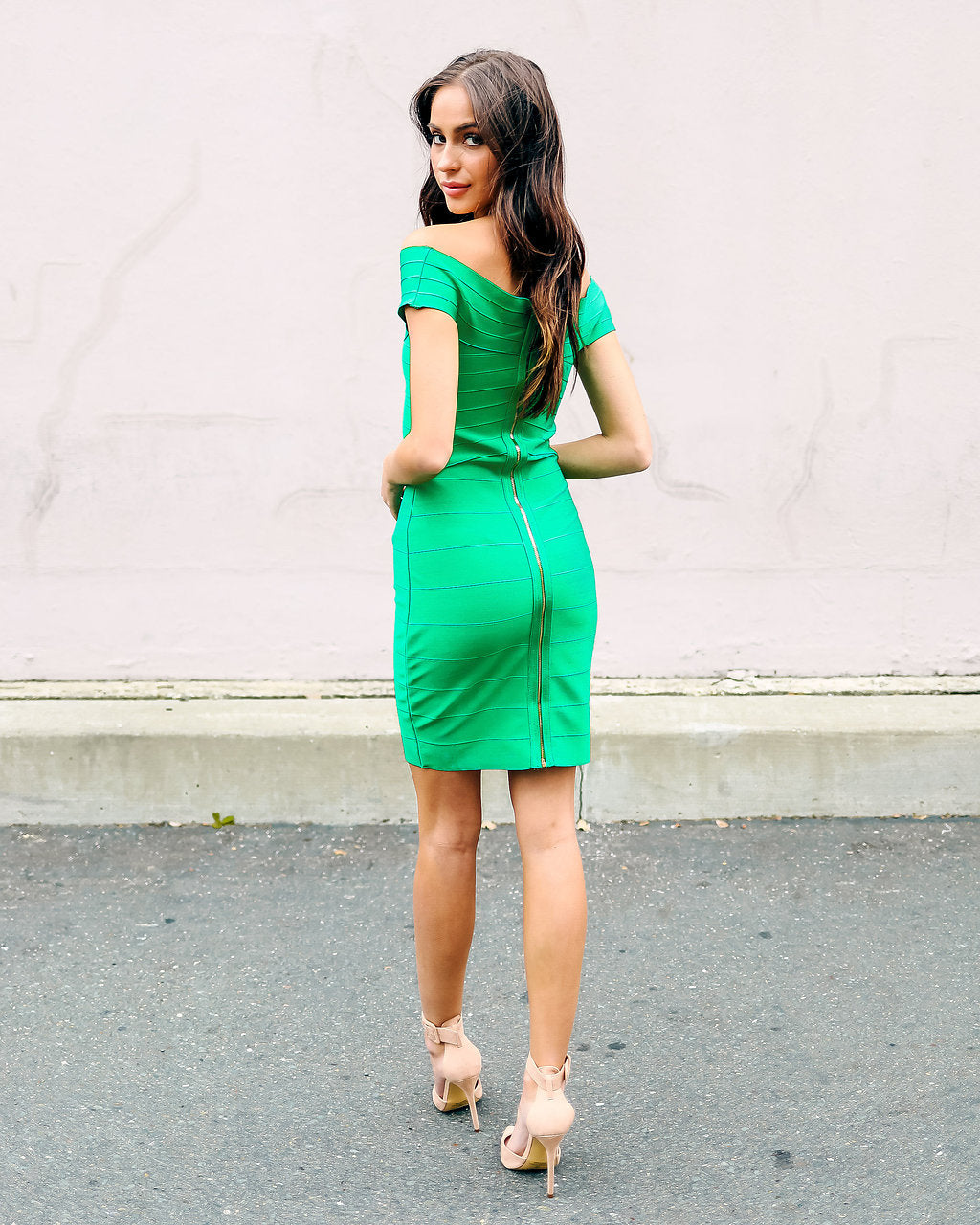 6ba733814780f Watch For Curves Bodycon Dress - Kelly Green – VICI