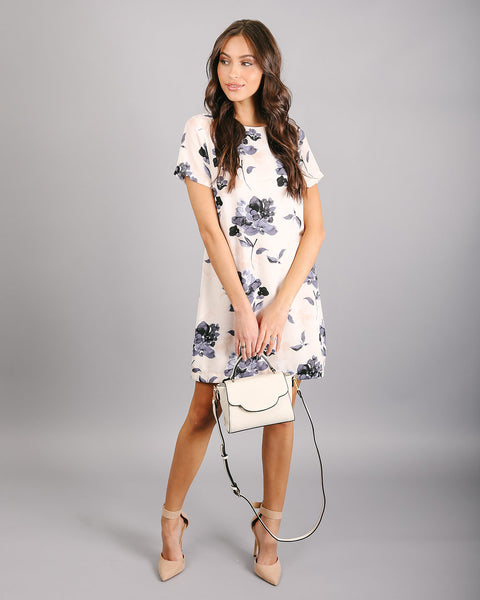 Fleur De Lis Shift Dress