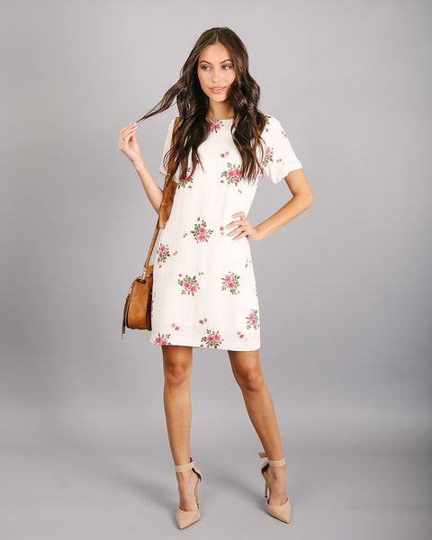 Calistoga Floral Shift Dress