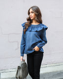 Fargo Cotton Blouse