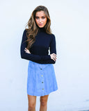 Happy Days Denim Mini Skirt