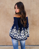 Bell Beauty Embroidered Top