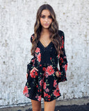 Fredrica Floral Pocketed Romper