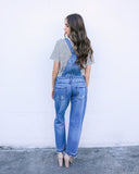 Over It Denim Overalls