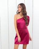 Immaculate One Shoulder Dress