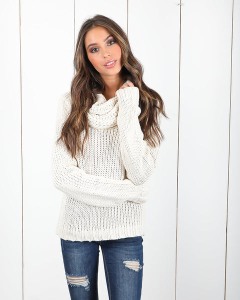 Daydream Cotton Sweater - Ivory