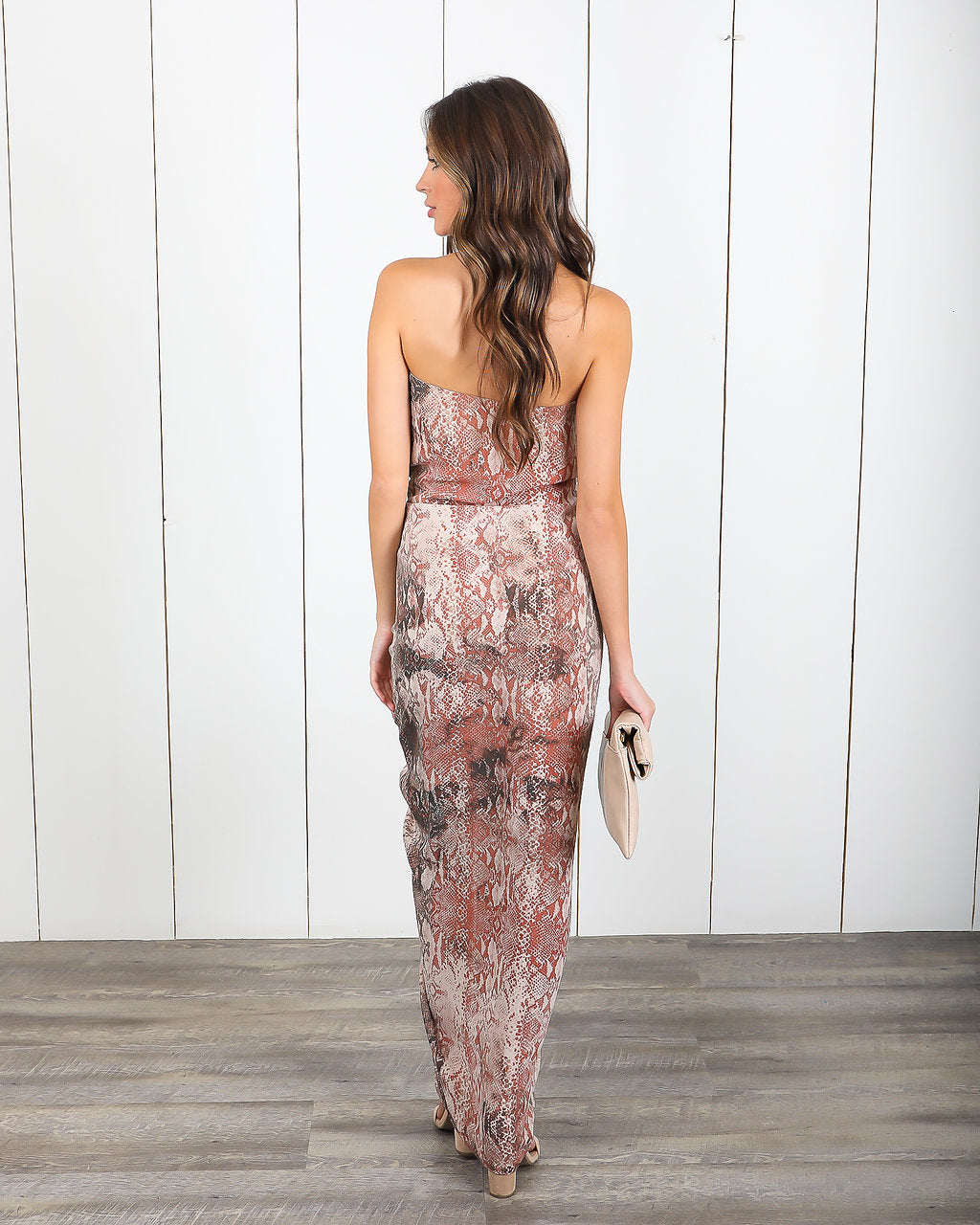 Pretty Poison Ruched Strapless Dress - FINAL SALE – VICI