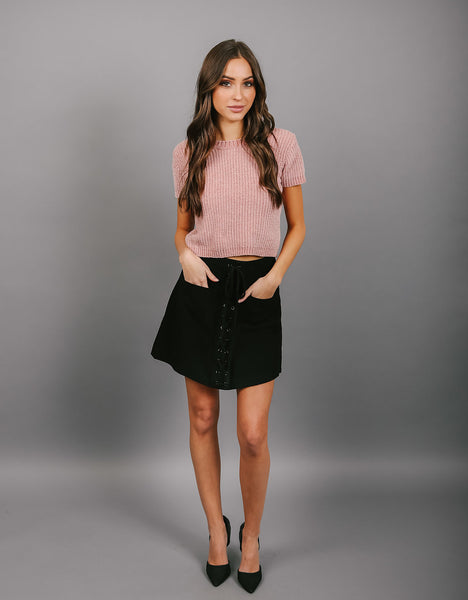 Dress Code Pocketed Mini Skirt - FINAL SALE