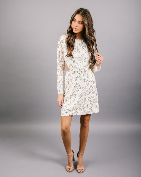 Shimmer Town Sequin Dress