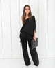 Urban Nights Pocketed One Shoulder Jumpsuit